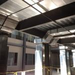 Atrium Smoke Evacuation Ductwork