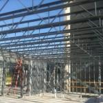 2nd Floor Steel Joists