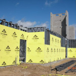 First Floor Wall Panels, Exterior Sheathing, Elevator & Stair Towers