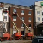 E.I.F.S. Installation & Exterior Brick Staining