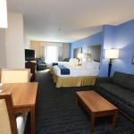 Suite Living Room & Bedroom