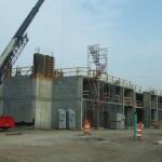 3rd Floor Precast Decking & Masonry