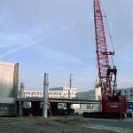 Precast Elevator Shaft, Columns, and Decking