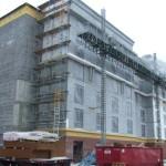 South Elevation E.I.F.S. Installation