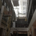 Atrium Bulkhead Framing