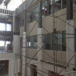 Decorative Columns Wraps in Atrium